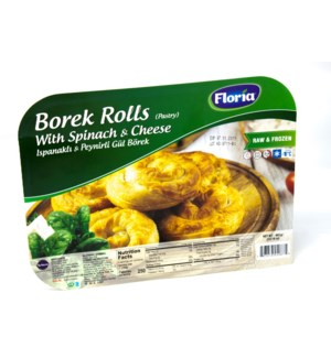 BOREK PASTRY ROLLS WITH SPINACH 400GRx10