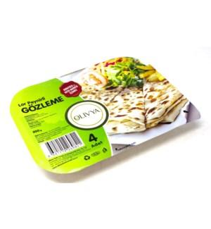 GOZLEME PASTRY W/CHEESE  500GRx18