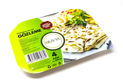 GOZLEME PASTRY W/SPINACH  500GRx18
