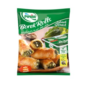 BOREK ROLLS WITH LABANEH-SPINACH 500g x 10