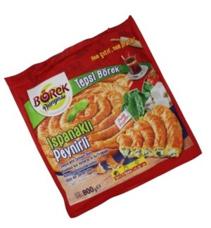 TEPSI BOREK ROLLS WITH CHEESE& SPINACH 800GX6