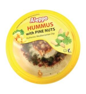HUMMUS W/PINE NUTS 10OZx12