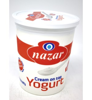 CREAM ON TOP YOGURT PLAIN (2LBx6)
