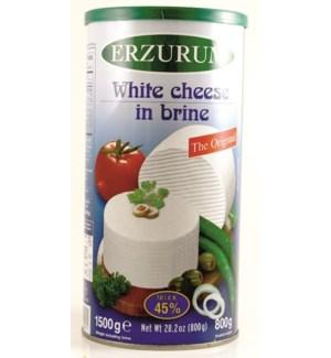 WHITE CHEESE (45%) 6x800GR
