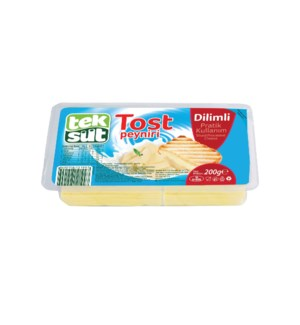 SLICED KASHKAVAL CHEESE 200GRx12