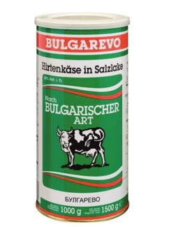 BULGAREVO WHITE CHEESE 1KGx6