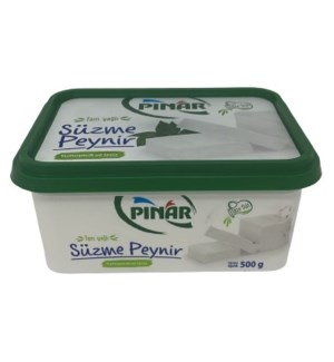 SUZME DOUBLE CREAM WHITE CHEESE 500GRx8