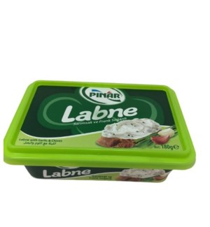 LABANEH WITH GARLIC CHIVES 180GX12 (SPREADABLE)