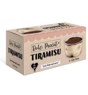 DOLCI PECCATI TIRAMISU CUP 8x3pcs x200gr