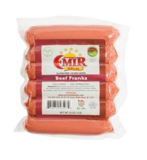 BEEF FRANKS 1LBSx12