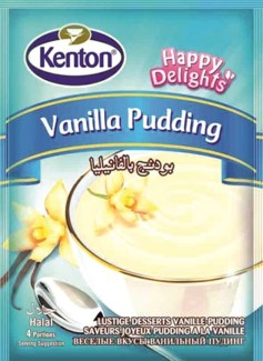 VANILLA PUDDING 100GRx24