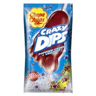 CHUPA CHUPS CRAZY DIP COLA 24PCx1
