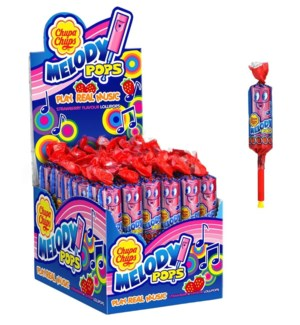 CHUPA CHUPS CRAZY DIP STRAWBERRY 14GRX24