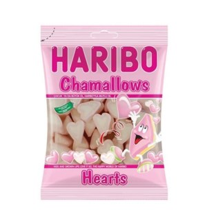 CHAMALLOW HEARTS  150GRx24