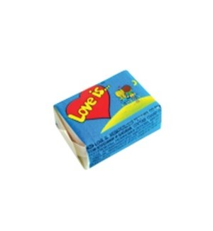 LOVE IS COCONUT-PINEAPPLE CHEWING GUM (4.2GRX100)X1