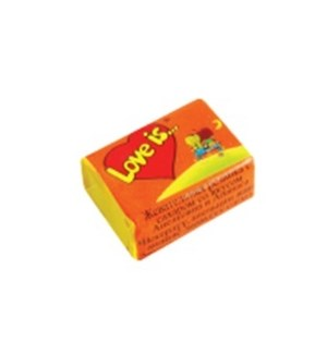 LOVE IS CHERRY-LEMON CHEWING GUM (4.2GRX100)X1