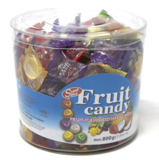 MIX FRUIT HARD CANDY  800GRx12 (R.PROMO)