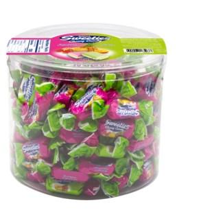 MIX HARD W/ CREAMY FRUIT CANDIES  750GRx10
