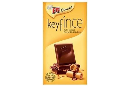 KEYFINCE MILK CHOCOLATE WITH WAFER 70GRx7