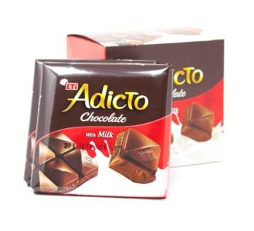 ADICTO MILK CHOCOLATE (70GRx6)x12