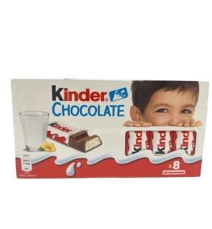 KINDER CHOCOLATE 100GRx40