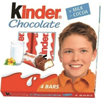 KINDER CHOCOLATE 50GRx20