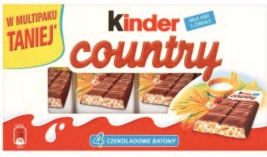 KINDER COUNTRY 23.5GRx40