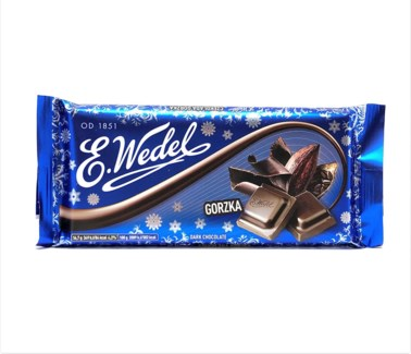 CLASSIC DARK CHOCOLATE (WEDEL) 100GRx20