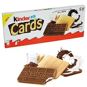 KINDER CARDS FERRERO 128GRx20