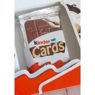 KINDER CARDS FERRERO 25.6GRx30