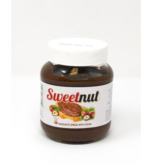SWEET NUT HAZELNUT SPREAD (350GRx12)