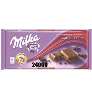 DARK BITTER ZARTHERB 100GRx23