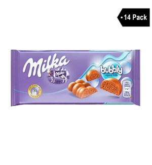 BUBBLY ALPINA MILK 90gr x 14