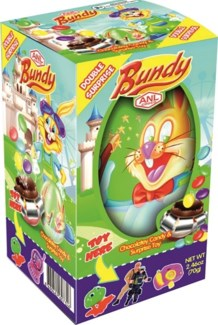 BUNDY DOUBLE SURPRISE 70GRx24x3 (SUMMER PROMO)