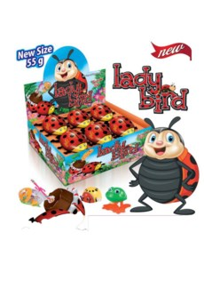 FIGURE CHOCO LADY BIRD 55Gx12x6 (SUMMER PROMO)