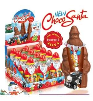 FIGURE NEW CHOCO SANTA 120Gx12x4
