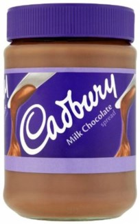CADBURY CHOCOLATE SPREAD 400gr x 6