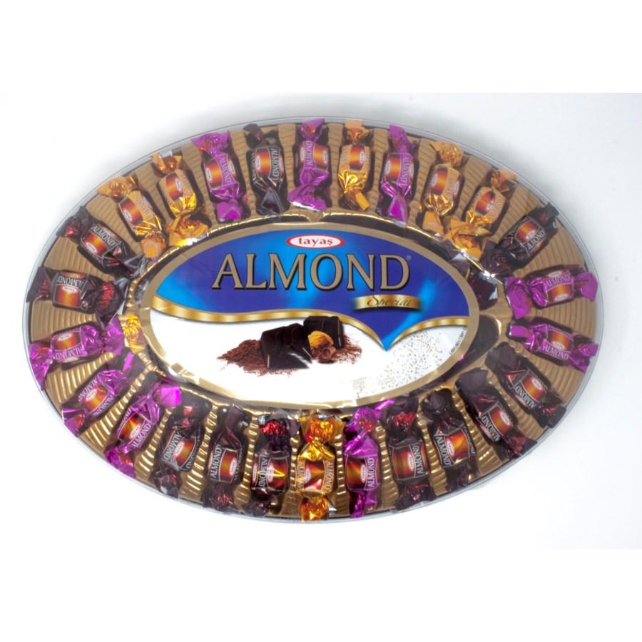 TRUFFLE ELIPS W/ALMONDS 500GRx6