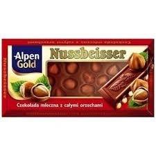 MILK CHOCOLATE WITH HAZELNUTS 100GRX20