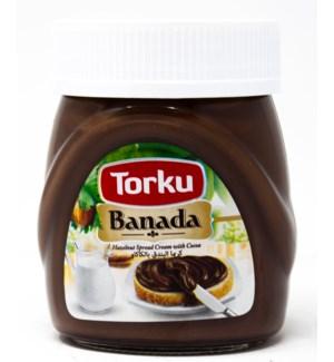 BANADA COCOA CREAM W/HAZELNUT (13%) 400GRX12