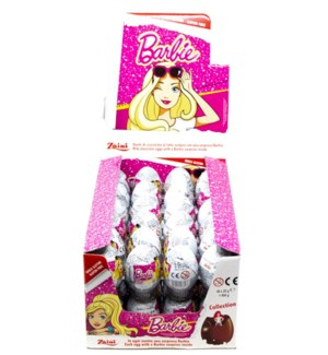ZAINI BARBIE CHOCOLATE EGGS 20GRx48