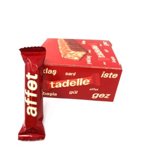 TADELE CHOCOLATE W HAZELNUT-MILK 30GRX20