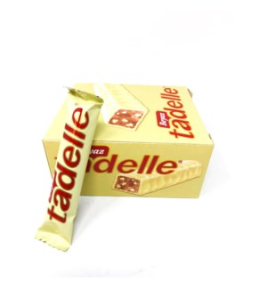 TADELE WHITE CHOCOLATE 30GRX20