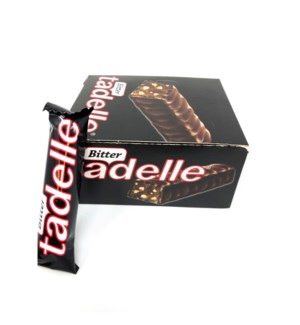 TADELE CHOCOLATE WAFER BITTER 35GRX24