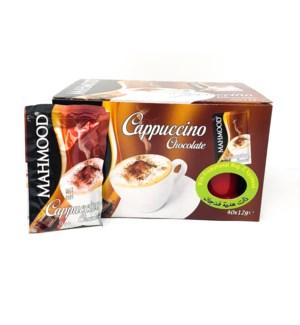CAPPUCCINO CHOCOLATE ENVELOPE C.MUG 12GRx40X6