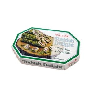 DELIGHT ROLLED W/PISTACHIO& CHOCO CREAM  450GRx12