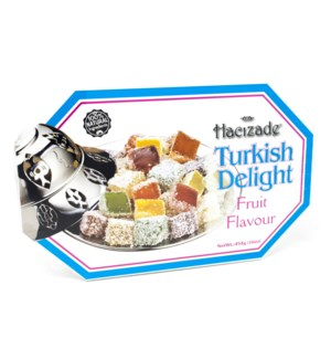 DELIGHT ROLLED W/MIX SPECIAL FRUITS  454GRx12 -(S.PROMO)