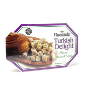 DELIGHT MIXED ROASTED NUTS (850) 454GRx12-(S.PROMO)