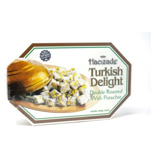 DELIGHT DOUBLE ROASTED W/PISTACHIO 454GRx12