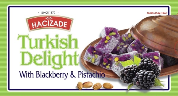 DELIGHT PISTACHIO & BLACKBERRY  454GRx12